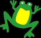 KESL logo frog only